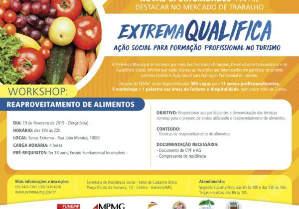 Extrema Qualifica – Reaproveitamento de Alimentos